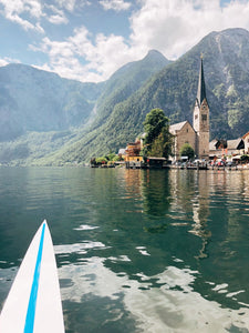 Rowing trip #1 to Hallstatt / Austria
