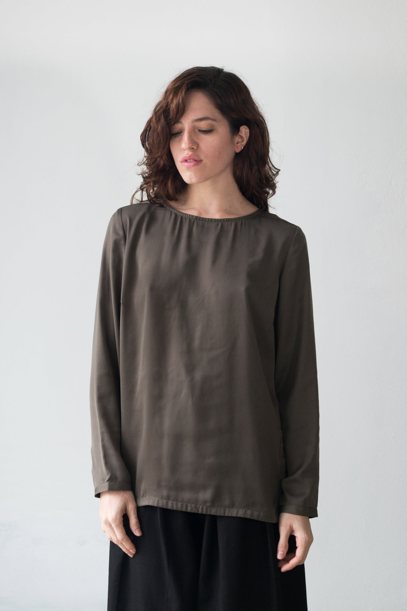 Button Tunic Top