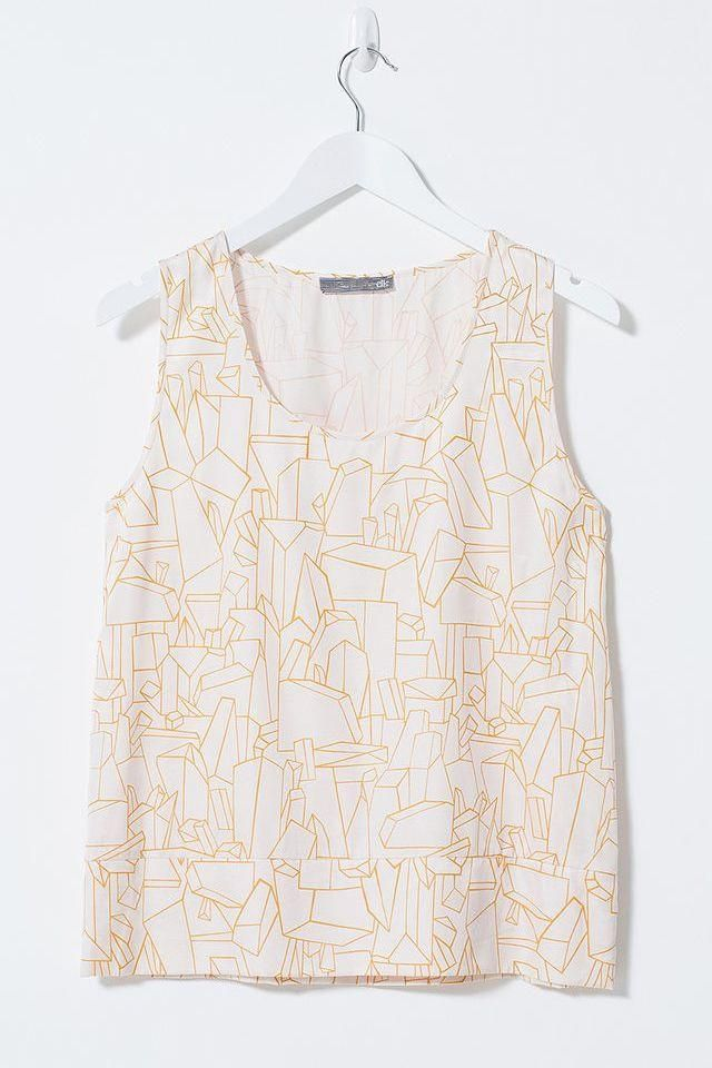 Quarry Print Top