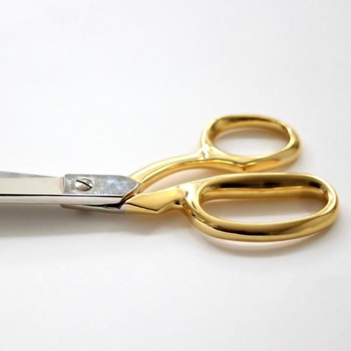 Dressmaker Shears with Gold Handle
