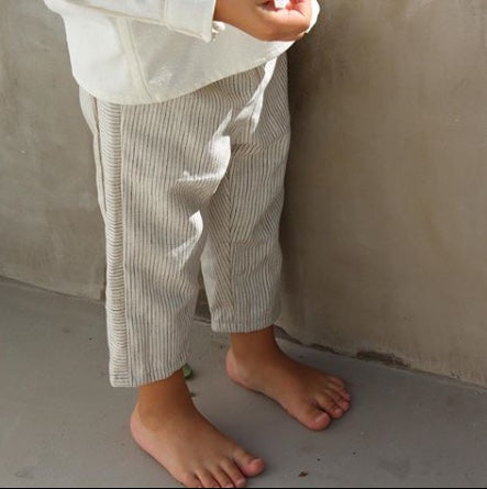 Paneled Long Pants
