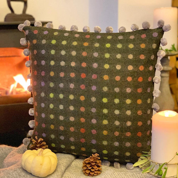 Cosy Tweed Cushion