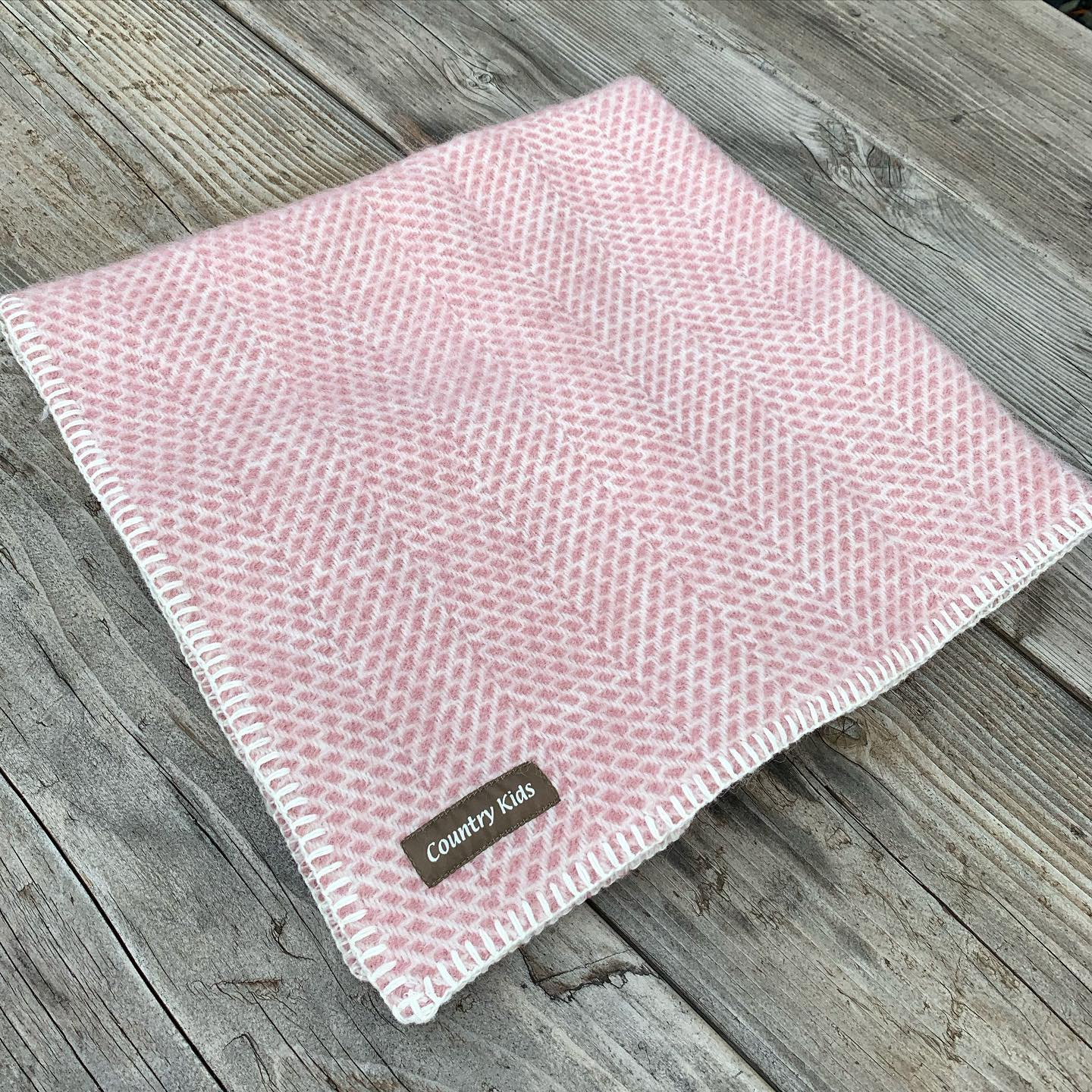 Cosy Wool Baby Blanket