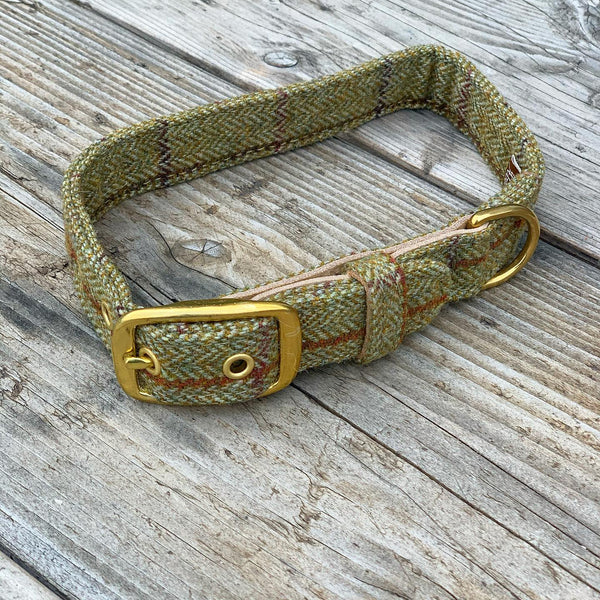 Country Hounds Tweed Leads and Collars