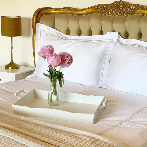 Egyptian Cotton Double Row Duvets Covers