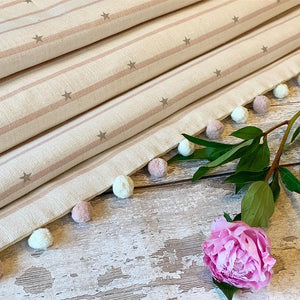 Peony and Sage Roman Blinds - Made To Order
