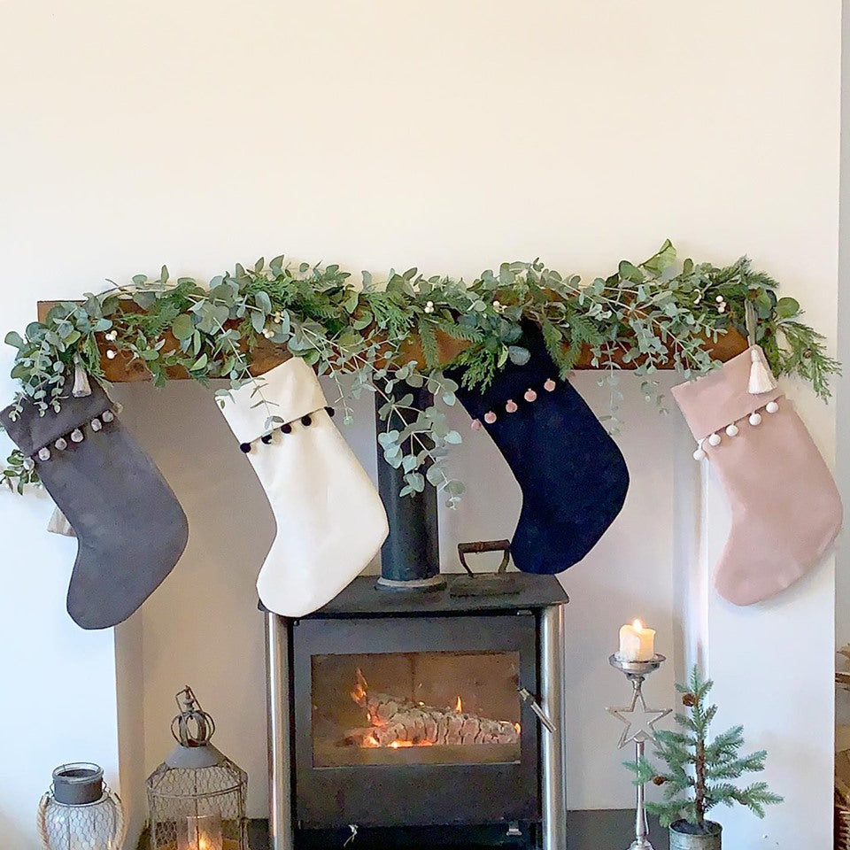 Opulent Velvet Christmas Stockings