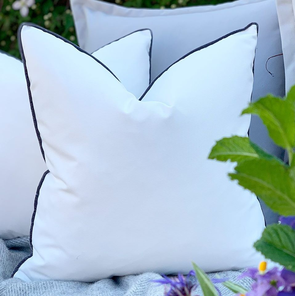 Water Resistant Pipped Edged Cushions