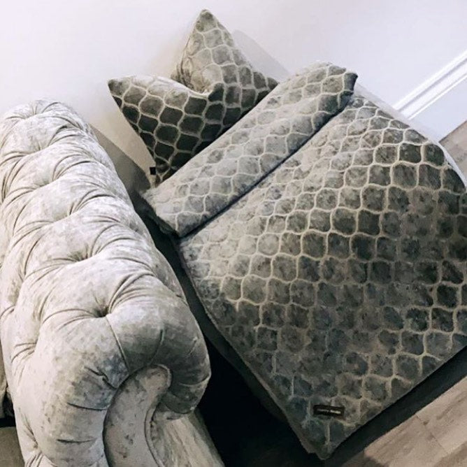 Luxury Patterned Throw