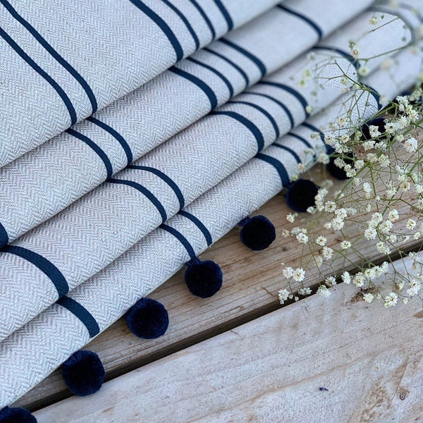 Stripe Fabric samples