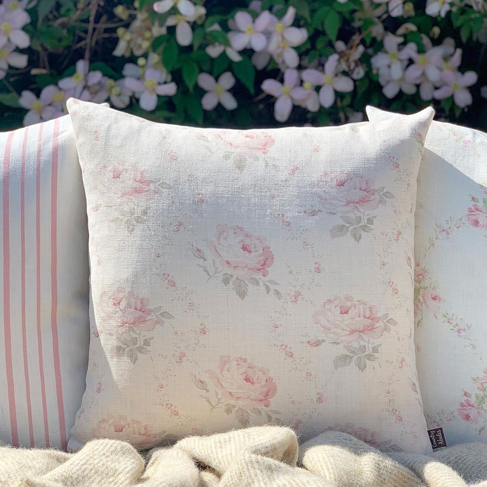 Georgian Roses Cushions