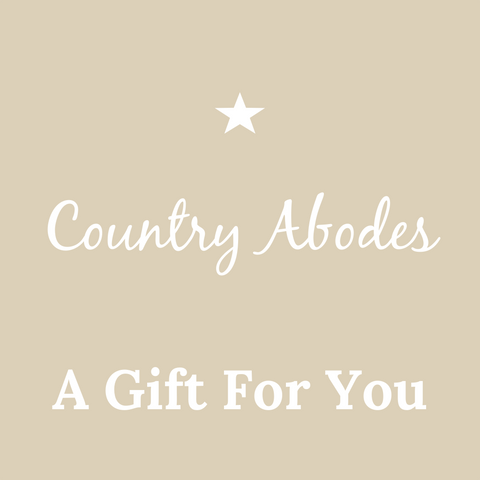 Country Abodes  Gift Voucher