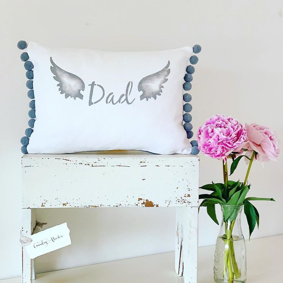 Angel Wings Cushion