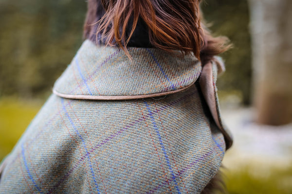 Luxurious Tweed Dog Coats