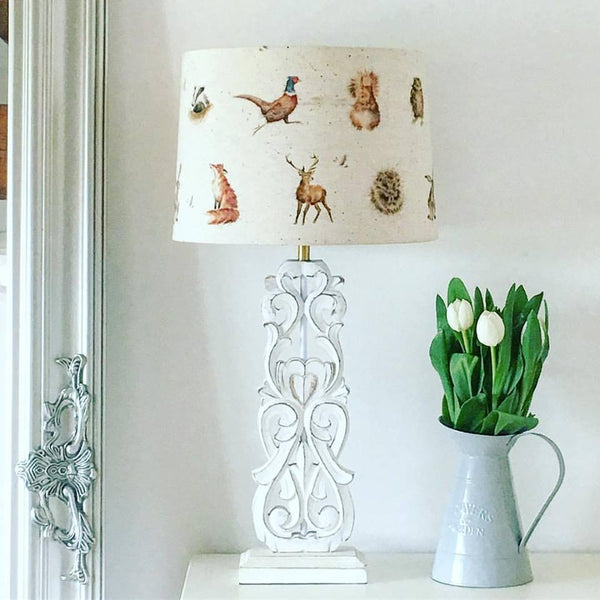 Woodland Animal Lampshade