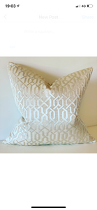 Geometric Patterned Cushions