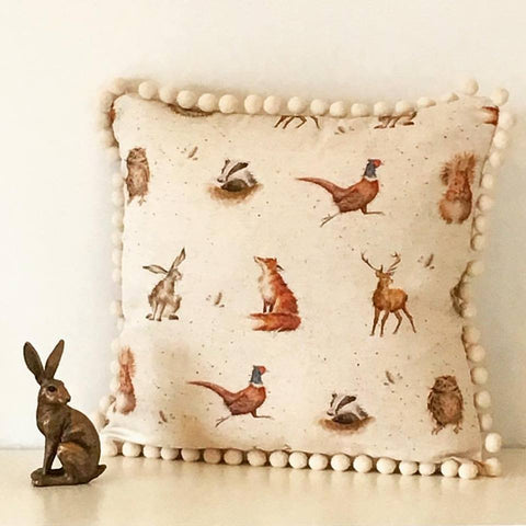Woodland Animal Cushions