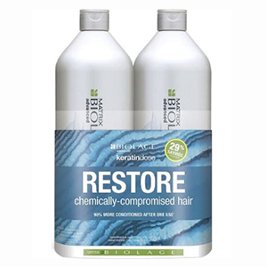 Keratin Dose Shampoo And Conditioner Duo