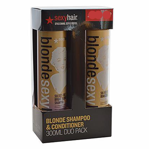 Strong Sexy Hair Gift Set, Colour Safe Strengthening Shampoo, Colour Safe Strengthening Conditioner And Core Flex Anti Breakage Leave In Reconstructor