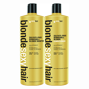 Sulphate Free Bombshell Blonde Shampoo And Conditioner Duo
