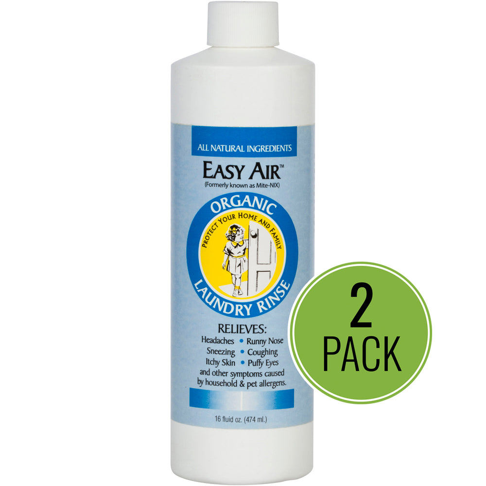 Easy Air Organic Allergy Relief Laundry Rinse 2-Pack