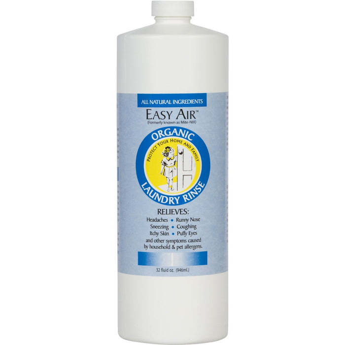 Easy Air   Organic Allergy Relief Laundry Rinse