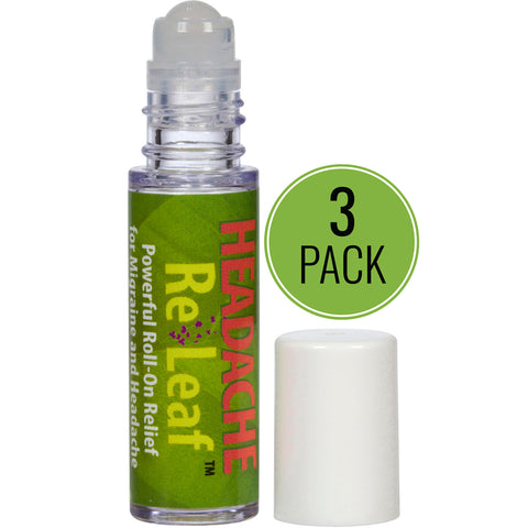 Headache ReLeaf Roll-On 3-Pack