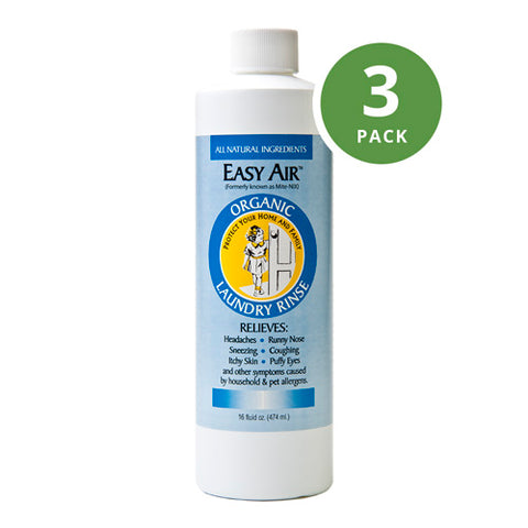 Easy Air Organic Allergy Relief Laundry Rinse 3-Pack
