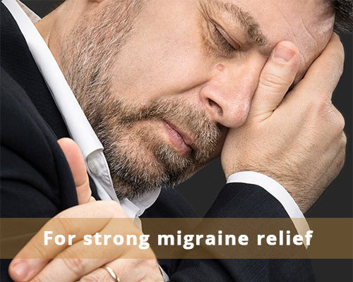 For strong migraine relief