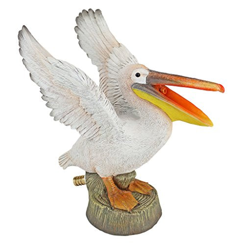 Pelican Spitter Piped Statue