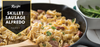 5-Ingredient Skillet Sausage Alfredo Recipe