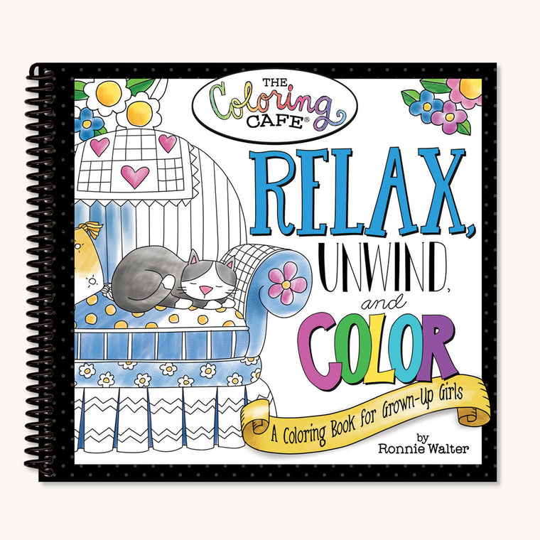 Relax, Unwind & Color