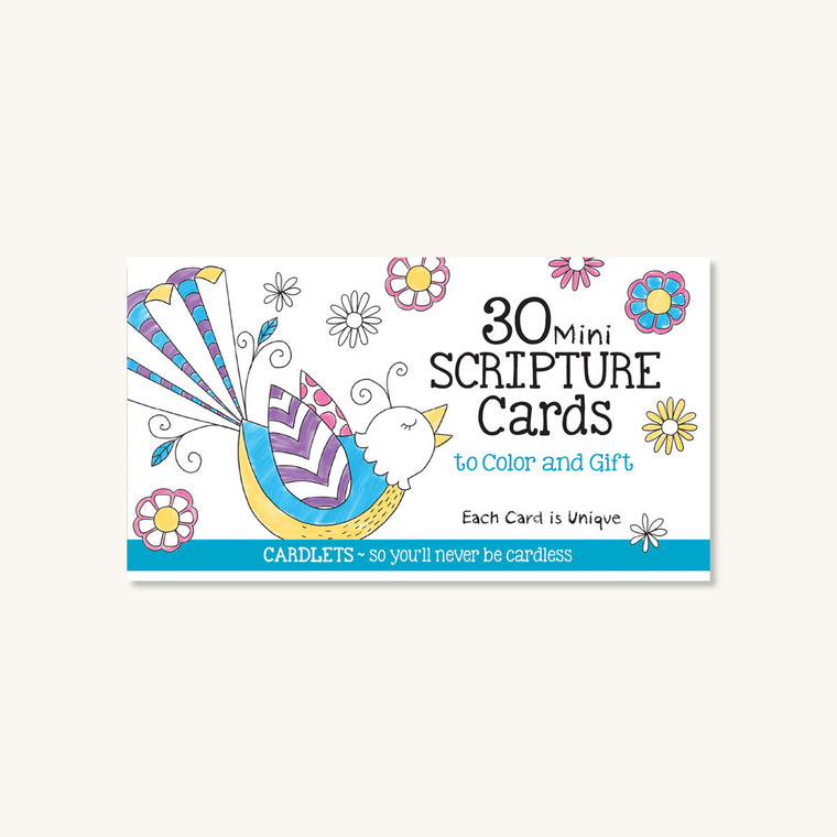 Cardlets: 30 Mini Scripture Cards