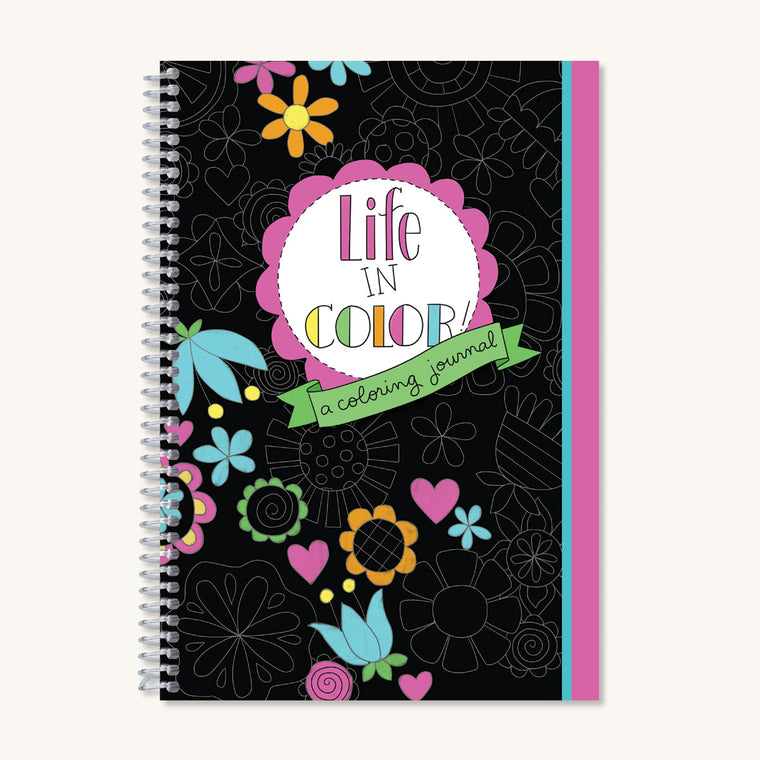 Life in Color Coloring Journal