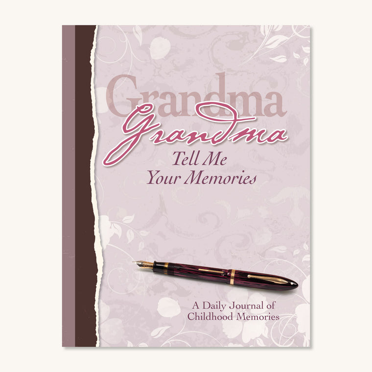 Grandma Tell Me Your Memories Journal