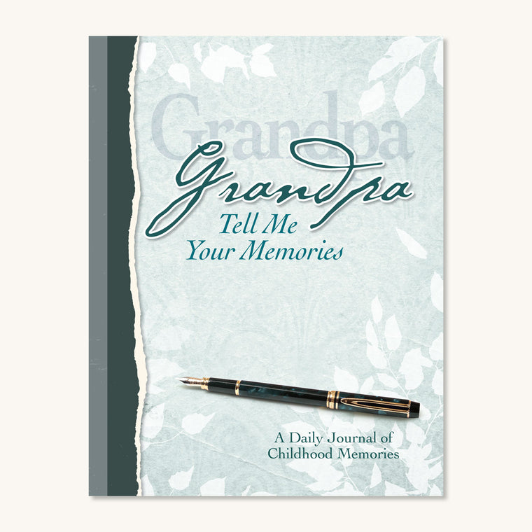 Grandpa, Tell Me Your Memories Journal