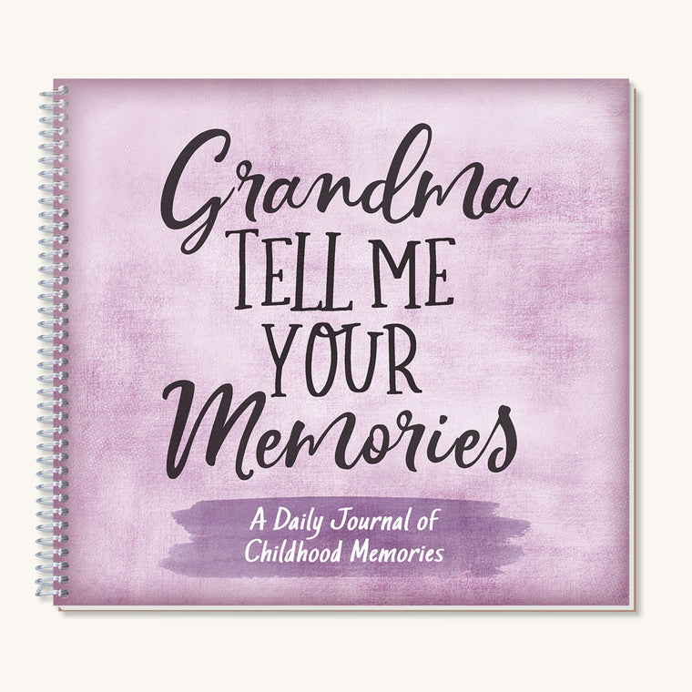 Grandma, Tell Me Your Memories Journal