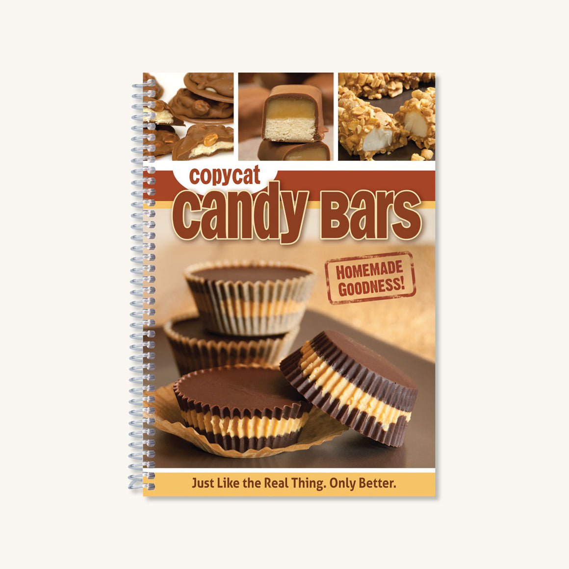 Copycat Candy Bars Cookbook