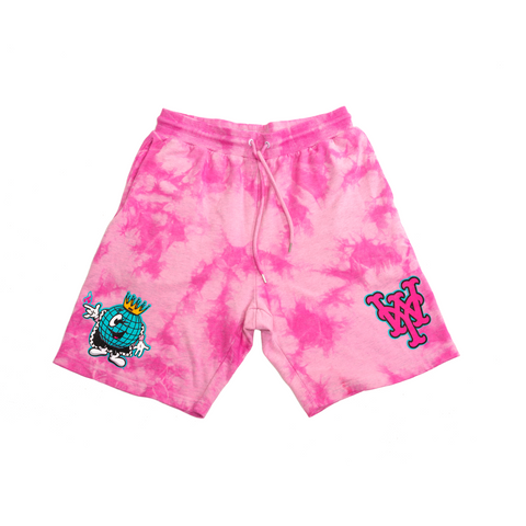 BRNS YOUNG WORLD TIE DYE SWEAT SHORT