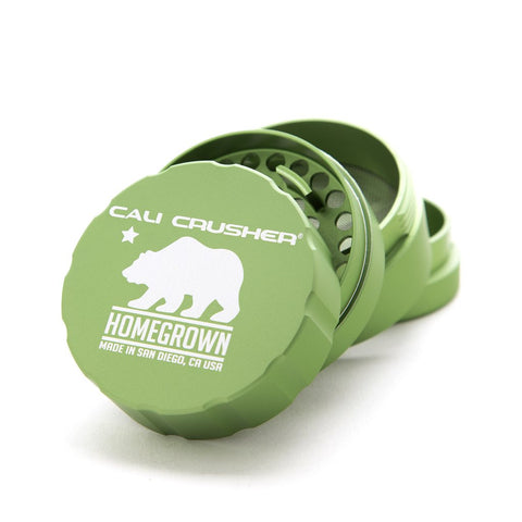 "Cali Crusher® Homegrown 2.35"" 4-Piece Hard Top Herb Grinder"