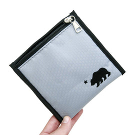 "Cali Pouch® 100% Smell Proof w/Locking Key (6""x6"")"