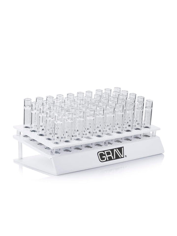 "GRAV® 16mm Taster display w/ 100 3"" GRAV® Tasters - White"