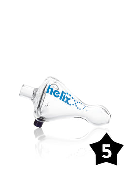 "3"" Helix™ Chillum - Clear - Pack of 5"