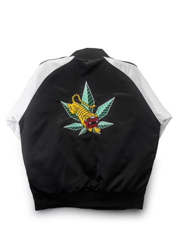 GRAV® Satin Bomber Jacket