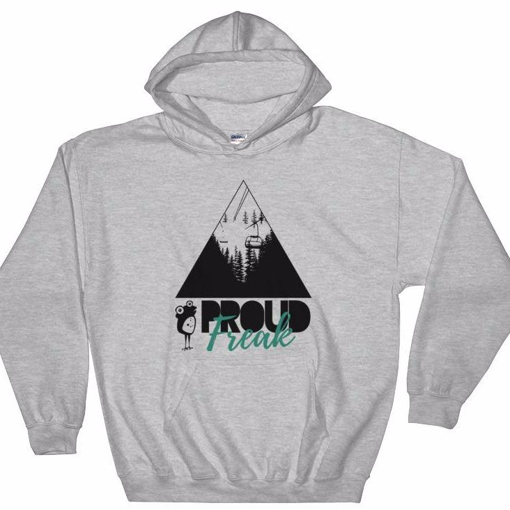 Winter Freak Hooded Sweatshirt