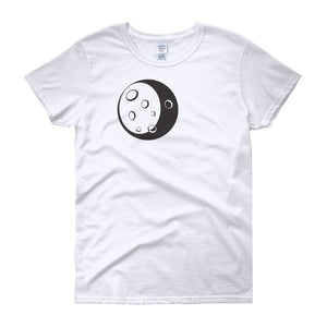 This is a pairing t-shirt for couples.   Moon to complete Moon & Rocket for Him