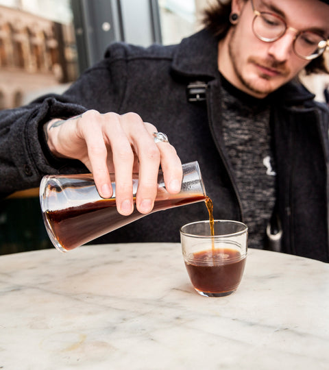 'How can I get better at making coffee?' Meet James Wise