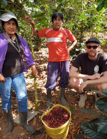 Volcano Coffee Works visits ACPC, Peru