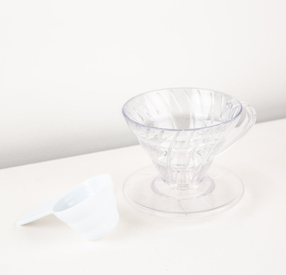 Hario V60 01 - Clear Plastic