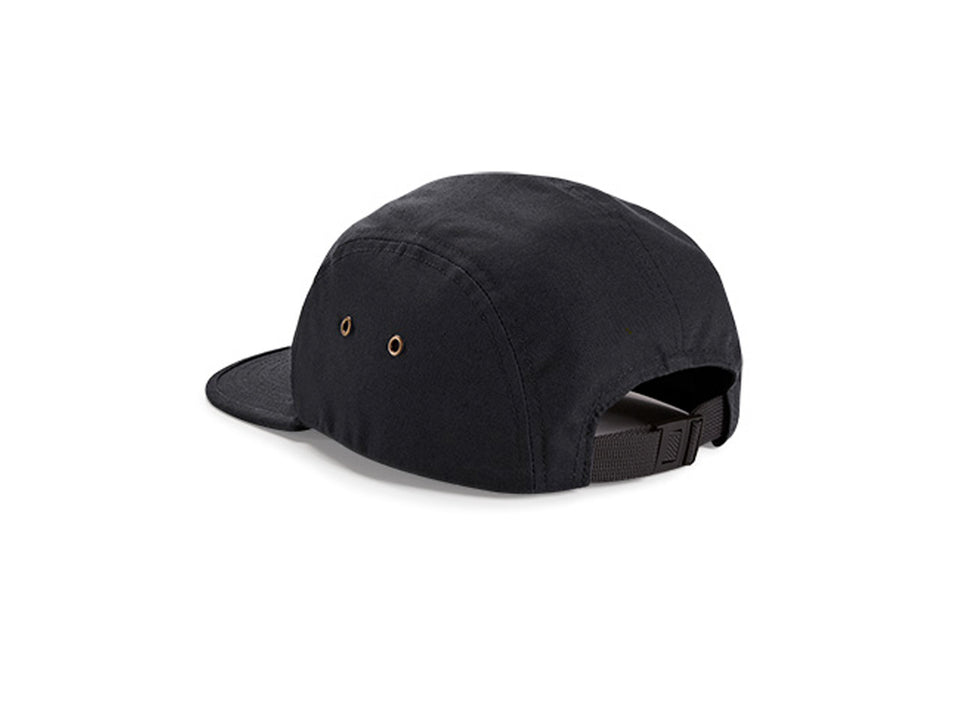 Volcano 5 Panel Canvas Cotton Cap